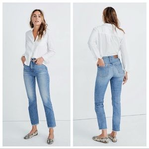 NWT Madewell Perfect Vintage Mom Jean Ainsworth